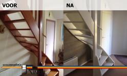 Binnenwerk woonhuis te Hoogwoud