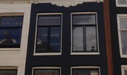 Buitenwerk grachtenpand te Amsterdam