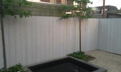Buitenwerk tuin te Hoogwoud