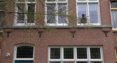 Buitenwerk monumentaal pand te Alkmaar